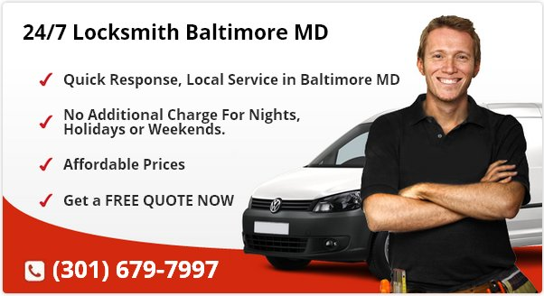 24 Hour Locksmith Baltimore MD